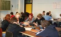 Unterricht im Geschwister-Scholl-Gymnasium Pulheim.<br />© Foto: Renate Bonow<br />