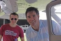 Chris und Pilot